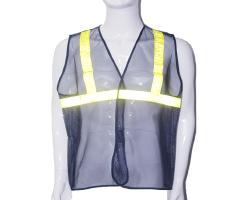 Áo lưới phản quang - Mầu tím than