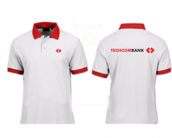 Áo thun Cotton - Techcombank