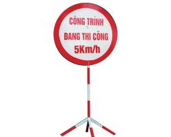 Thi công biển hiệu, biển báo cho công trình, công trường.