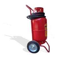 Bình chữa cháy xe đẩy bột BC 35Kg - MFZT35